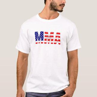 MIXED MARTIAL ARTS-USA-Flagge T-Shirt