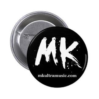 MKULTRA Musik-Knopf #2 Runder Button 5,7 Cm