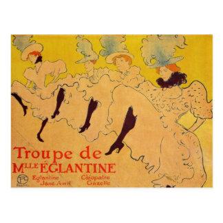 Mlles Eglantines 2 durch Toulouse-Lautrec Postkarte