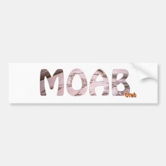 Moab, Utah Autoaufkleber
