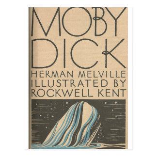 Moby Dick Abdeckung Postkarte