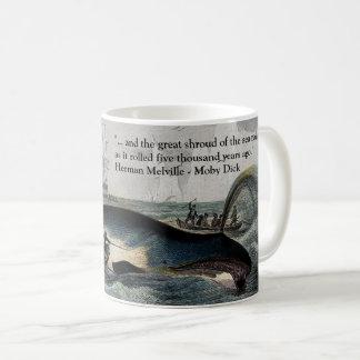 Moby Dick Zitat und Wal-Tasse Kaffeetasse