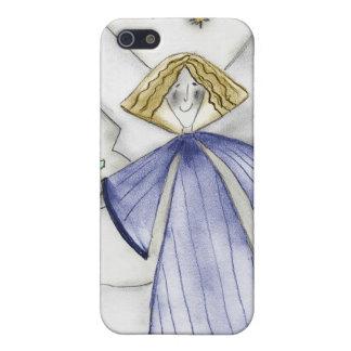 Mod-Engel im Blau iPhone 5 Schutzhülle