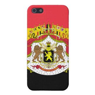 Mod-Flagge von Belgien-Wappen iPhone 4 Fall iPhone 5 Case