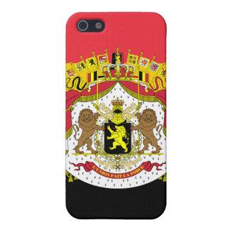 Mod-Flagge von Belgien-Wappen iPhone 4 Fall iPhone 5 Schutzhülle