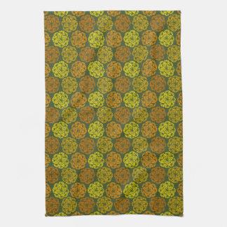 Mod-Ringelblumen-Blumenmuster-Küchen-Tuch Küchenhandtuch