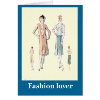 Mode 1928, vervollkommnen für Arbeit Karte