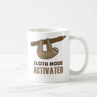 Mode de paresse tasse à café