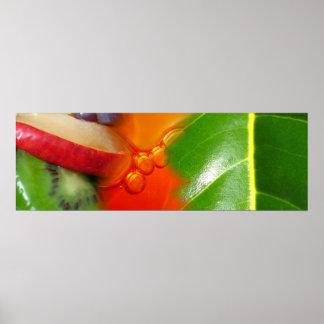 """Mode de vie de kiwi"" - Tutti Frutti Poster"