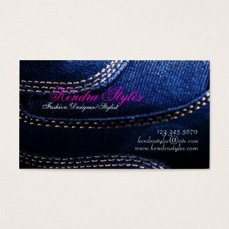 Mode-Designer-/Stylist-Geschäfts-Karte Visitenkarten