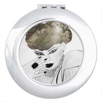 Mode-Edelstein-Vertrags-Spiegel Taschenspiegel