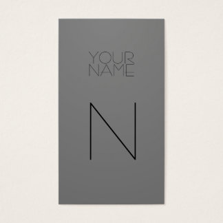 Mode-Grau Visitenkarte
