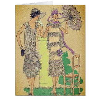 Mode-Prallplatten-Sonntag Nachmittag Tee Karte