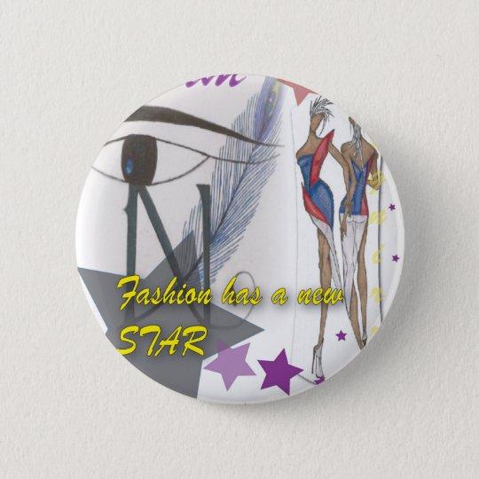 Modeknopf Runder Button 5,1 Cm