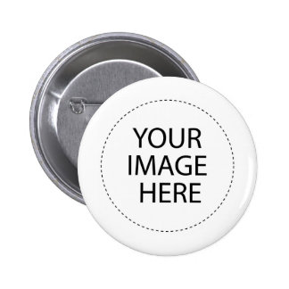 Modèle de bouton badge avec épingle