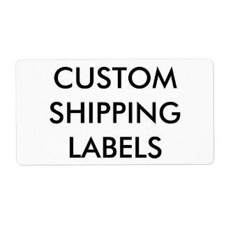 Modèle vide personnalisé par coutume d'étiquettes étiquette d'expédition