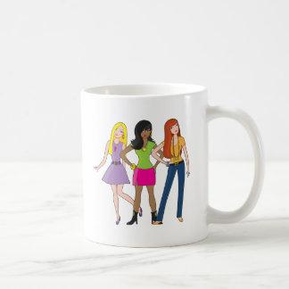 Modemädchen Kaffeetasse