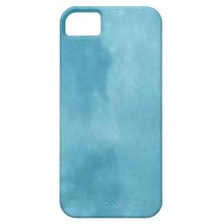 Modern blue oils wather marble pattern-iphone5 iPhone 5 etui