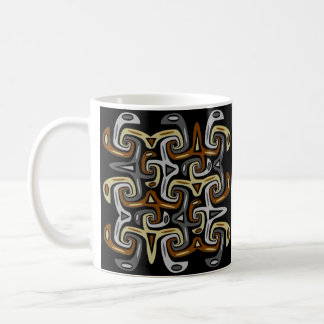 Modern trifft Stammes- 6 Kaffeetasse