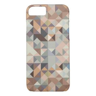 moderne abstrakte geometrische neutrale Person iPhone 7 Hülle
