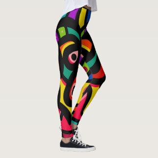 Moderne abstrakte multi Farbe Leggings