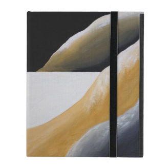 Moderne abstrakte rustikale südwestliche feine iPad hülle