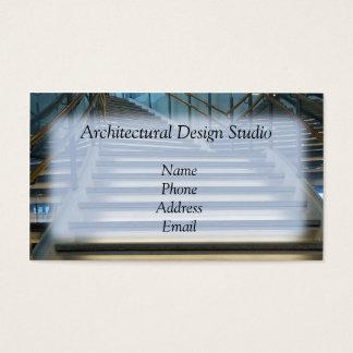 Moderne architektonische Innenarchitektur Visitenkarte