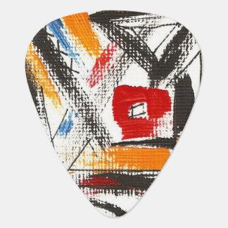 Moderne Dachboden-Hand gemalte abstrakte Plektrum