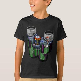 Moderne Designer-Ferngläser T-Shirt