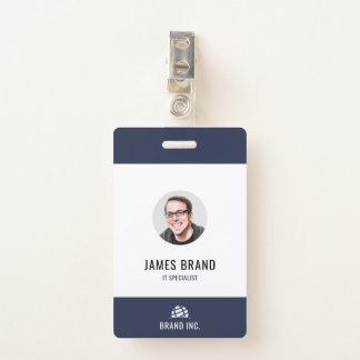 Moderne Geschäft Identifikation Ausweis
