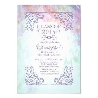 Moderne Klasse von Abschluss-Party Einladung 2015