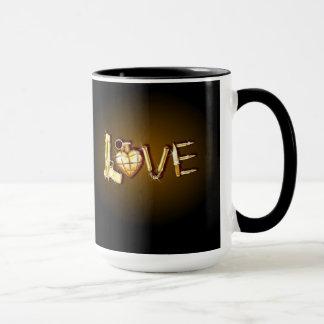 Moderne Liebe-Tasse Tasse