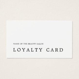 Moderne minimale Schwarz-weiße Visitenkarten