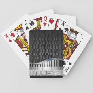 Moderne Musik-Spielkarten Spielkarte