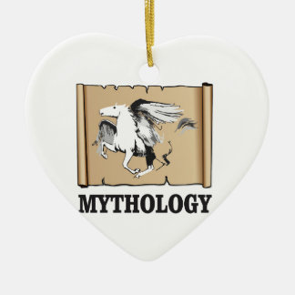 moderne Mythologie Keramik Ornament