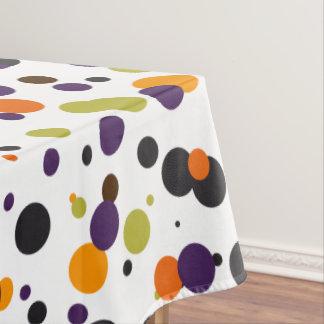 Moderne Polka-Punkte Trick-oder Tischdecke