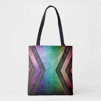 Moderne Regenbogenentwurfs-Taschentaschen Tasche