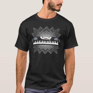 Moderne Tastatur Synth: Modell 3D: T - Shirt