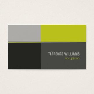 Moderne unbedeutende Geschäftskarten-Schablone Visitenkarte