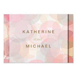 Moderne unbedeutende Hochzeits-Wartekarten 8,9 X 12,7 Cm Einladungskarte