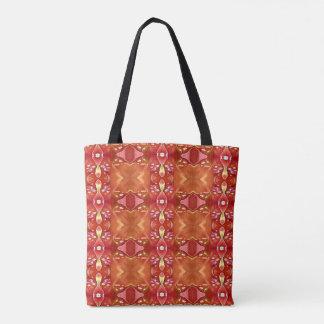 Moderne vibrierende Rosen-orange Tasche