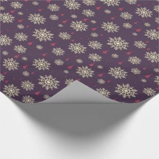 Moderne Weihnachtsfarben Geschenkpapier