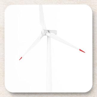 Moderne Windkraftanlage Getränkeuntersetzer