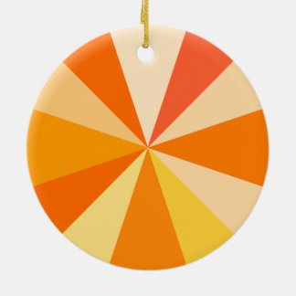 Moderner 60er der Pop-Kunst Funky geometrische Keramik Ornament