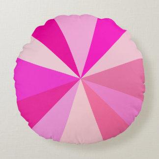 Moderner 60er der Pop-Kunst Funky geometrische Rundes Kissen