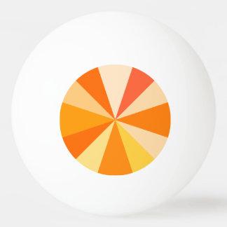 Moderner 60er der Pop-Kunst Funky geometrische Tischtennis Ball