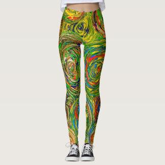 Moderner abstrakter legging Kreis Leggings