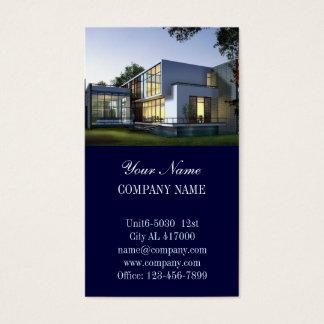 Moderner Erneuerungs-Heimwerker-Zimmerei-Bau Visitenkarte