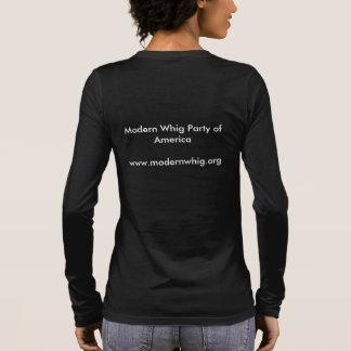 Moderner Whig Langarm T-Shirt
