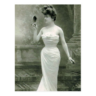 Modernes 1900 postkarte